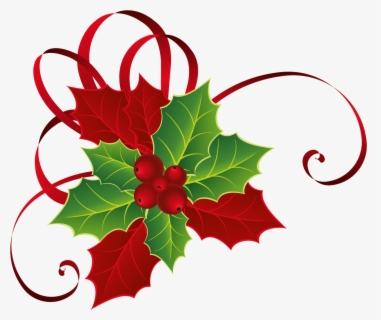 Poinsettia Clipart Flourishes - Watercolor Christmas Flower Png,  Transparent Png - 800x800(#785131) - PngFind