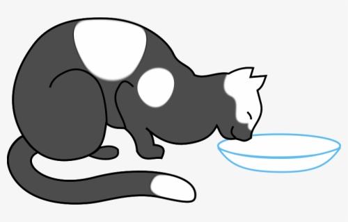 gambar kucing makan kartun free transparent clipart clipartkey gambar kucing makan kartun free
