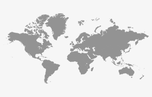 Free World Map Black And White Clip Art With No Background Clipartkey