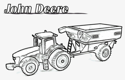 Tractor102 Allis Chalmers Tractor Drawing Free Transparent Clipart Clipartkey