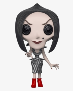 Coraline Png Clipart Background Funko Pop The Other Mother Free Transparent Clipart Clipartkey