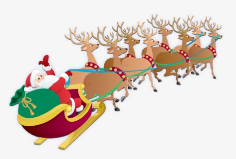 free santa in sleigh clip art with no background clipartkey free santa in sleigh clip art with no