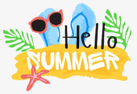 Free Hello Summer Clip Art with No Background - ClipartKey