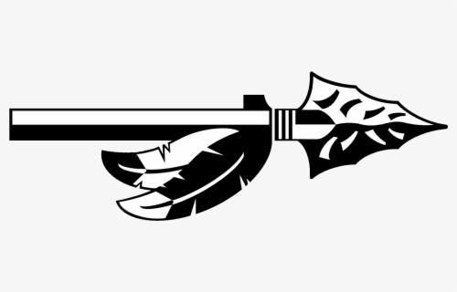 Arrowhead Vector Spartan Spear - Indian Arrow Clipart Black And White ,  Free Transparent Clipart - ClipartKey