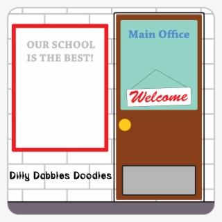 Principal Clipart Office Door , Free Transparent Clipart - ClipartKey