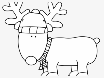 Images Of Cartoon Deer Outline Deer Clipart Black And White