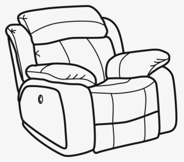 Free Couch Black And White Clip Art With No Background