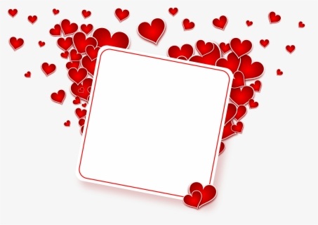 Vintage Valentine's Day Clip Art - Sweetest Heart Frame - The Graphics Fairy