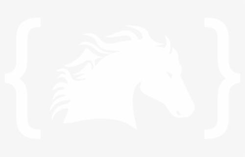 Transparent Horse Clipart Black And White - Mustang Horse Head Transparent,  HD Png Download , Transparent Png Image - PNGitem