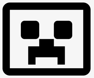 Free Minecraft Black And White Clip Art With No Background Clipartkey