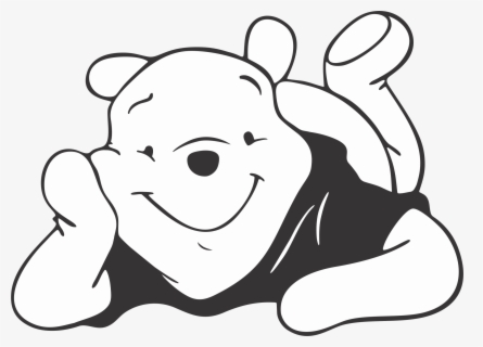 Get Winnie The Pooh Prints Black And White