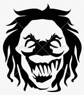Clown Clipart Eveil Gambar Badut Hitam Putih Free Transparent Clipart Clipartkey