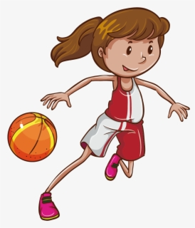 Children Playing Basketball Clipart   Free Images at Clker.com - vector clip  art online, royalty free & public domain