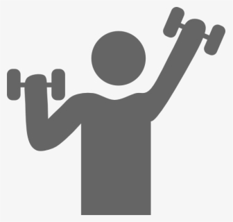 Free Exercise Black And White Clip Art With No Background Clipartkey