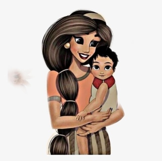 Mom Son Child Art Cartoon Drawing Remixit Freetoedit Mom And Son Drawing Free Transparent Clipart Clipartkey