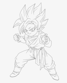 Dragon Ball Z Goten Coloring Pages - Dragon Ball Coloring Pages ... | 320x256