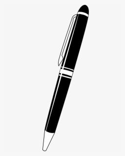 free pen black and white clip art with no background clipartkey free pen black and white clip art with