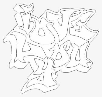 28 Collection Of I Love You Graffiti Coloring Pages Graffiti I Love You Free Transparent Clipart Clipartkey