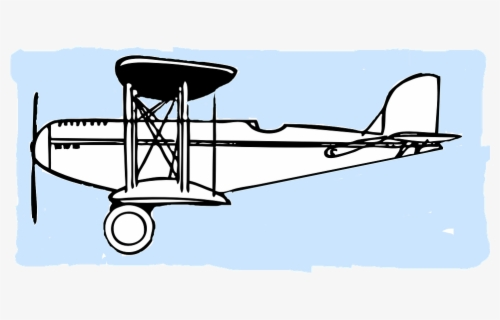 Clip Art Biplane, HD Png Download , Transparent Png Image - PNGitem