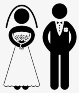 Bride Clip Art Black and White