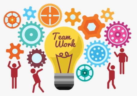 Teamwork Clipart Support System - Team Work Icon Png , Free ...