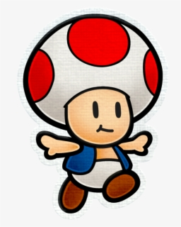 Toad Mario Coloring Page Free Transparent Clipart Clipartkey
