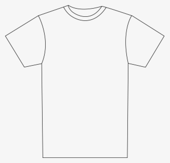 Roblox Template Outline Transparent Free Shirts Clip Art With No Background Clipartkey