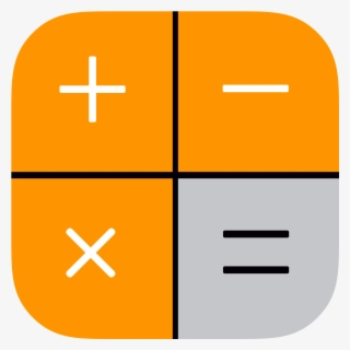 Calculator Icon Png Image - Calculator Symbol On Iphone , Free Transparent Clipart - ClipartKey