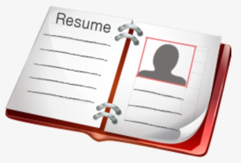 Free Resume Clip Art With No Background Clipartkey
