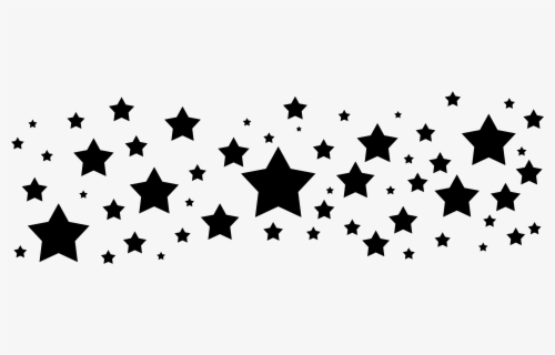 Star outline images different size star outline sized stars black clip art  - WikiClipArt