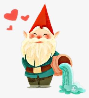 Cute Garden Gnome SVG File & Clipart for Cricut & Silhouette