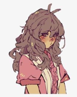Female Brown Hair Anime Transparent Cartoons Cute Tomboy Anime