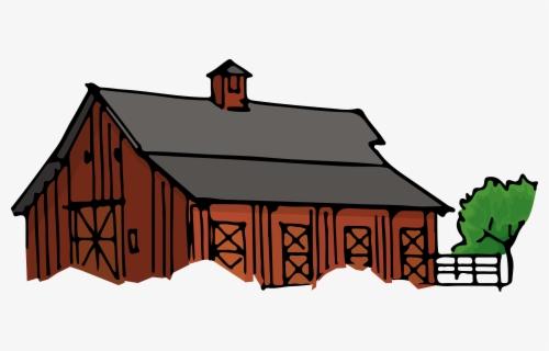 Clip Art Cartoon Barn - โรง สี ข้าว การ์ตูน , Free Transparent Clipart -  ClipartKey