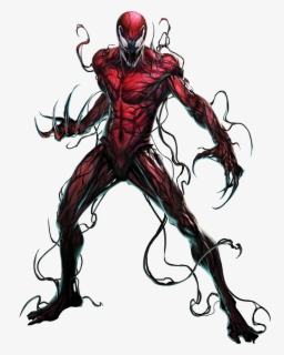 Carnage Transparent Background Full Body Venom Drawing Free Transparent Clipart Clipartkey