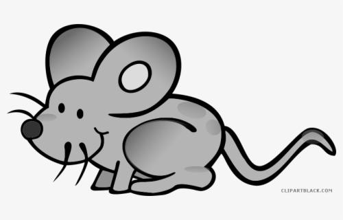 Grayscale Clipartblack Com Animal Cartoon Transparent Mouse Png Free Transparent Clipart Clipartkey