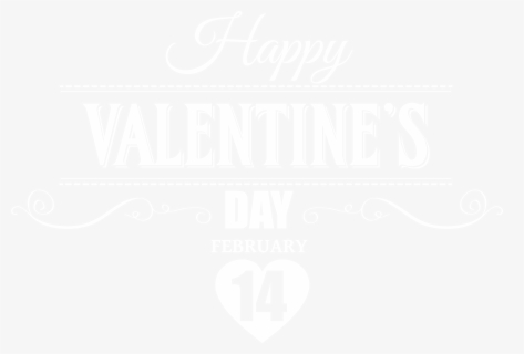Valentines Day Png Black, Transparent Clipart