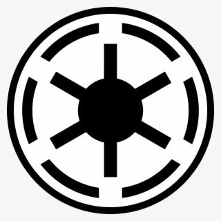 Clip Art Galactic Republic Symbol Old Republic Star Wars Logo Free Transparent Clipart Clipartkey