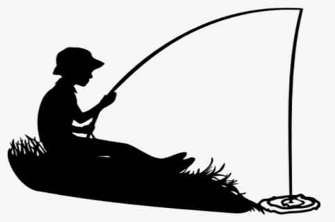 Fishing Clipart Little Boy Boy On The Moon Fishing Free Transparent Clipart Clipartkey