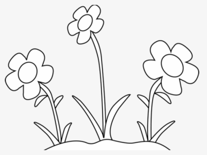 free black and white flowers clip art with no background - clipartkey  clipartkey