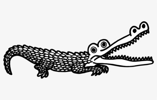 free crocodile black and white clip art with no background clipartkey free crocodile black and white clip art