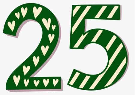 Number 25 Clip Art at Clker.com - vector clip art online, royalty free &  public domain