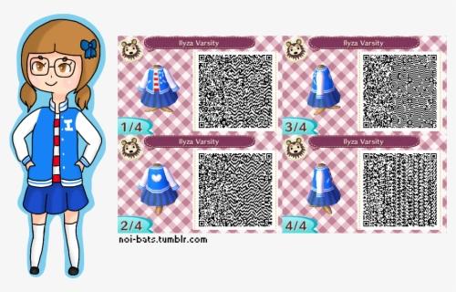 Danganronpa Qr Animal Crossing Free Transparent Clipart Clipartkey