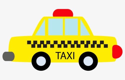 Taxi Clip Art Image - Gratis Transparent PNG