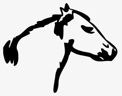 Horse Or Mustang Head Mascot Stock Vector - Illustration of clipart,  character: 70281578