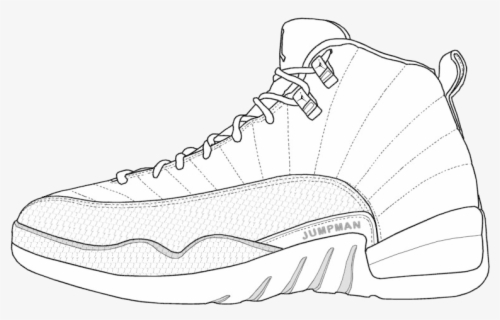- Jordan Retro Shoes Coloring Page Beautiful Collection - Shoes Coloring Page  Jordans , Free Transparent Clipart - ClipartKey