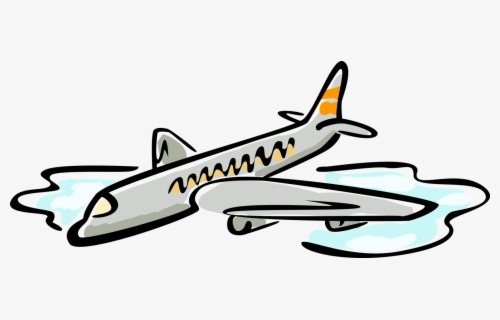 28 Collection Of Commercial Airplane Clipart - Airliner Clipart - Free  Transparent PNG Clipart Images Download