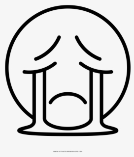 Crying Emoji Coloring Page Free Transparent Clipart Clipartkey
