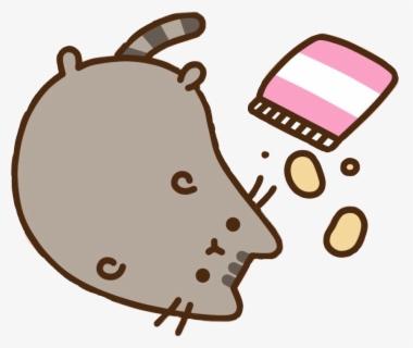 Pusheen Cat Clipart Lazy Pusheen Cat Wallpaper Laptop Free Transparent Clipart Clipartkey