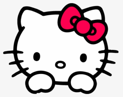 Download Hello Kitty Face Png Clipart Hello Kitty Clip - Hello Kitty  Transparent Png (#184658) - PinClipart