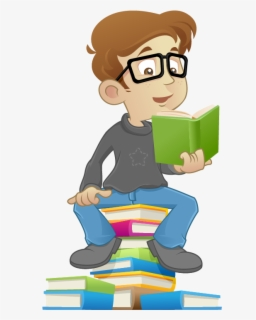 Free Children Reading Clip Art With No Background Clipartkey
